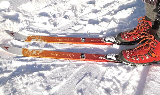 Asnes Cecilie Skog 2015 2016 Skis Review Cecilie Bc