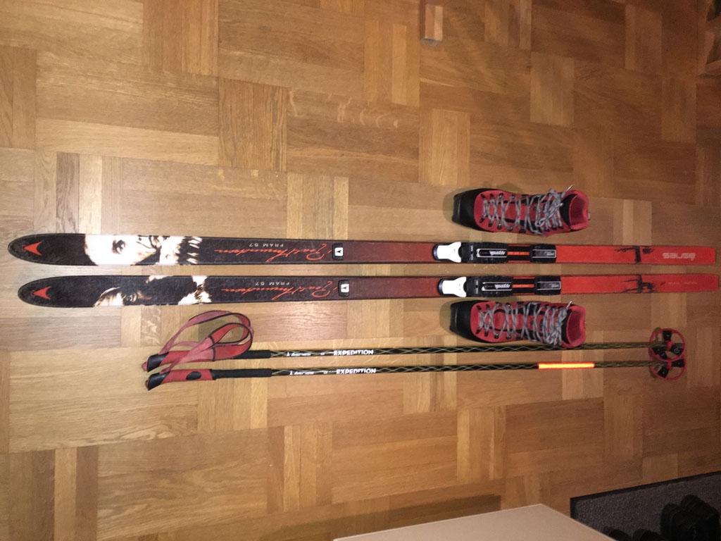 Asnes Amundsen Fram Wl Waxless Skis Telemark Talk Telemark Tips Forum
